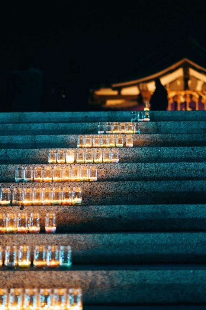 関門海峡キャンドルナイト2019/亀山八幡宮
